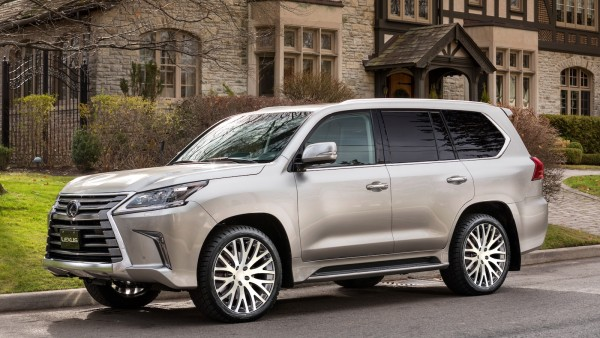Кованые диски Rocksroad Empire Graphite Diamond на 2016 Lexus LX450d - LX570 (1)
