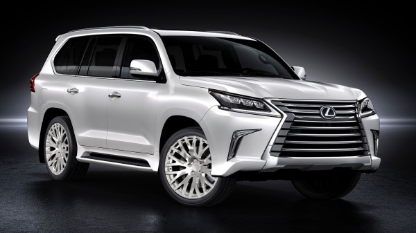 Кованые диски Rocksroad Empire Polished на 2016 Lexus LX450d - LX570 (1)