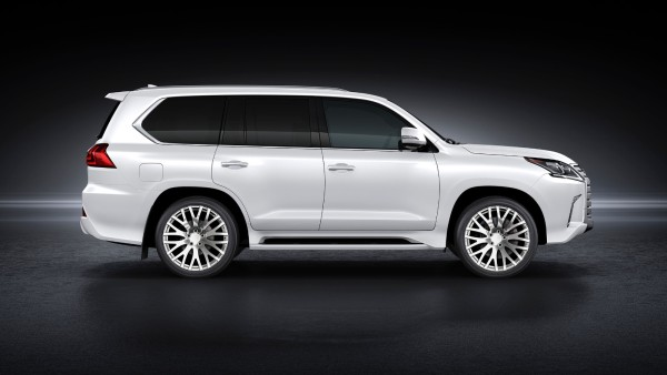 Кованые диски Rocksroad Empire Polished на 2016 Lexus LX450d - LX570