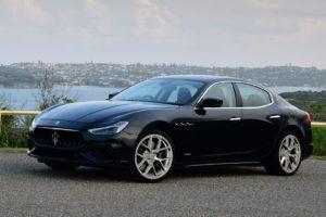 Кованые диски Beneventi K51 polished на Maserati Ghibli