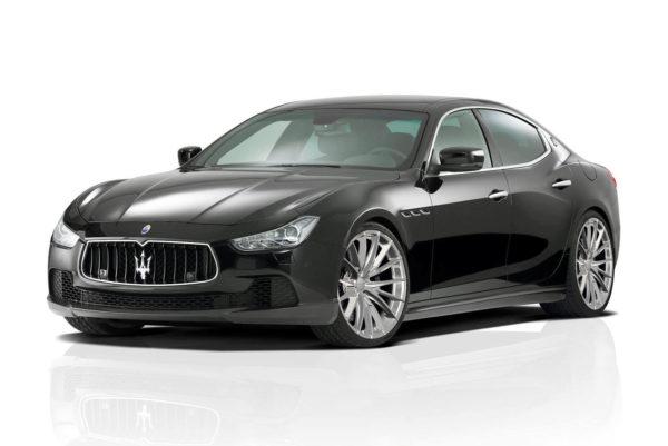 Кованые диски Rocksroad Eagle Polished на Maserati Ghibli