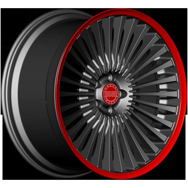 Solomon Alsberg B-1 Force Черный с красным
