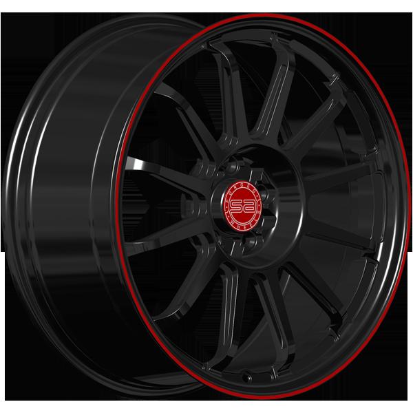 Solomon Alsberg P-2 Eco Super Light Черный с красным