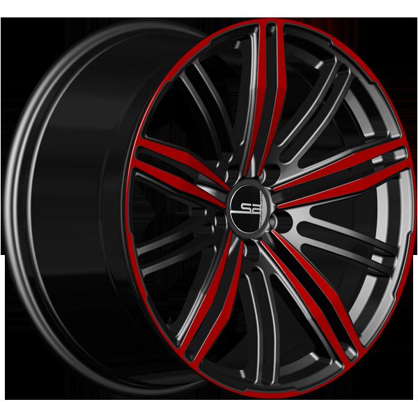 Solomon Alsberg P-4 Brilliance Черный с красным