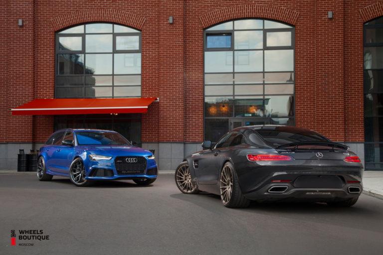 Фотосет Mercedes GT-S ADV1 + Audi RS6 HRE