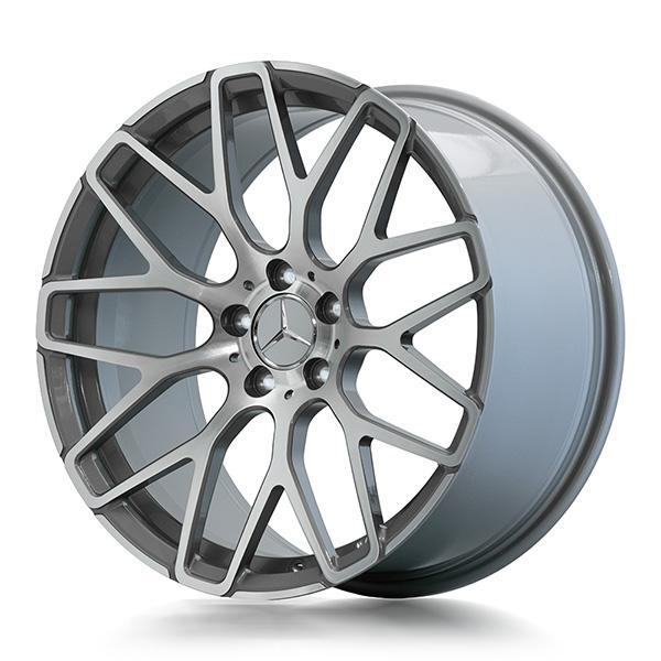 Кованые диски Beneventi R9 в отделке Black Graphite Diamond