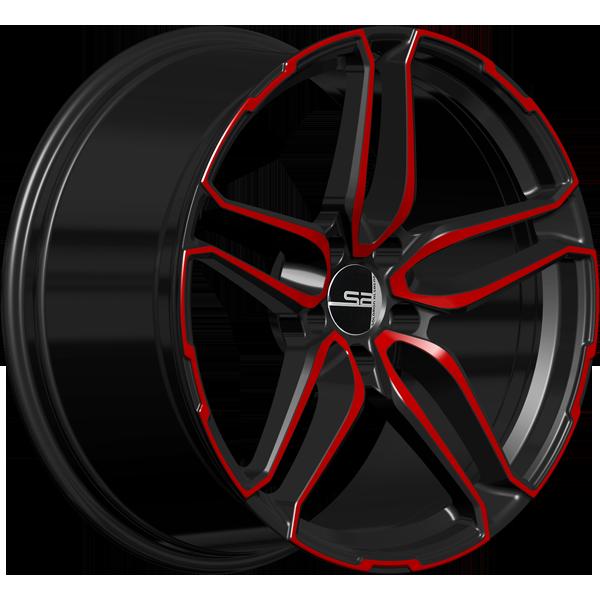 Solomon Alsberg B-4 Pride черный с красным