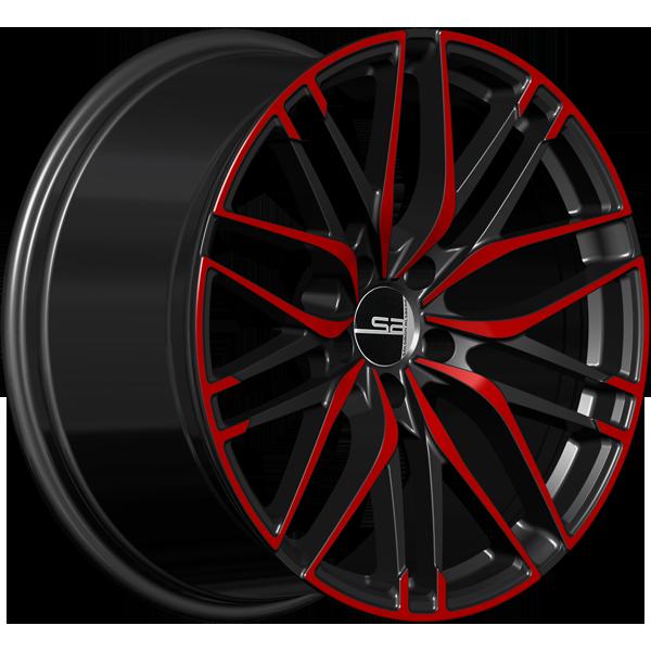 Solomon Alsberg B-5 Disco Черный с красным