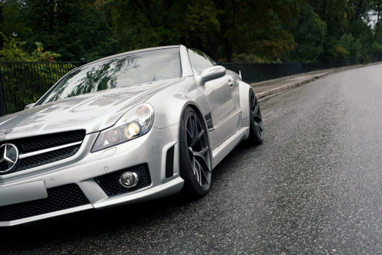Mercedes SL на Beneventi K5.1