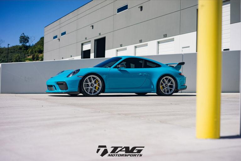 Porsche 911 на HRE R101 Lightweight