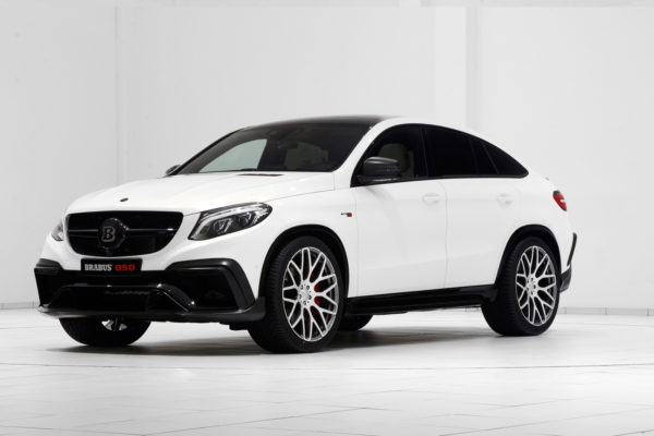 Mercedes GLE63 AMG Coupe на дисках Brabus Monoblock Y