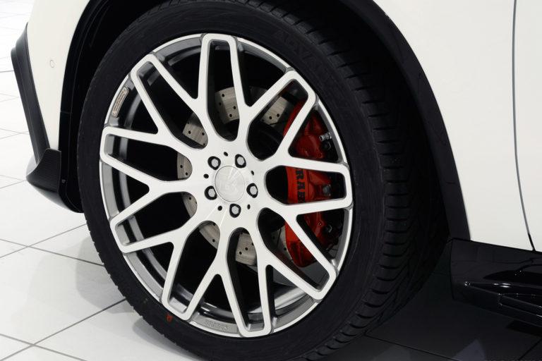 Mercedes GLE63 AMG Coupe на дисках Brabus Monoblock Y