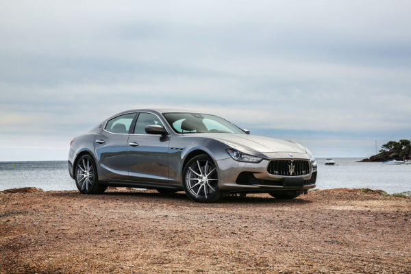 Кованые диски Beneventi K10 diamond Graphite на Maserati Ghibli