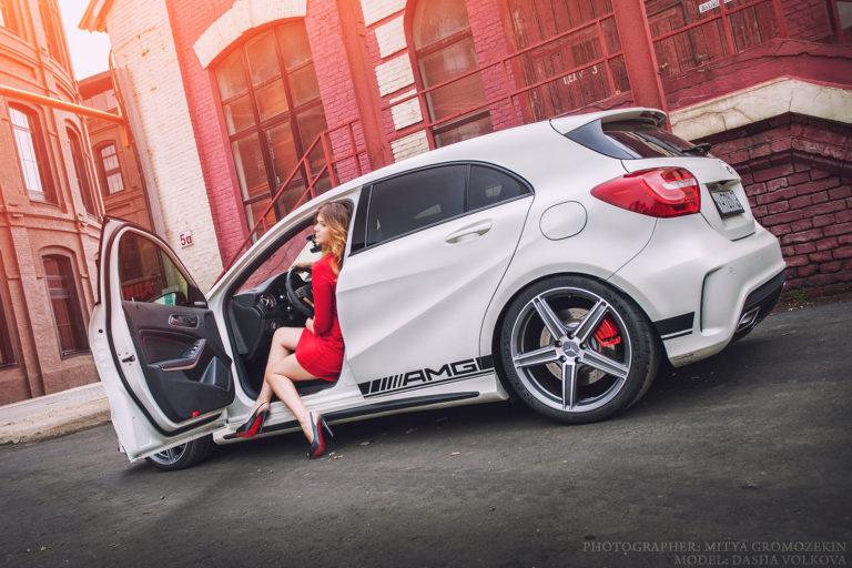 Mercedes A45 AMG на дисках Beneventi Z5