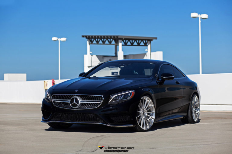 Mercedes S63 AMG Coupe на дисках Vorsteiner VFN502