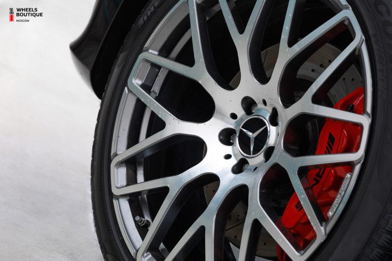 Mercedes-Benz GLS63 AMG на кованых дисках Brabus Monoblock Y