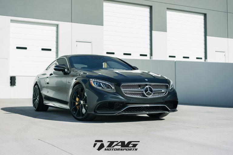Mercedes-Benz S63 AMG Coupe на кованых дисках HRE P204