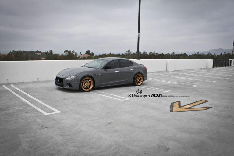 Maserati Ghibli на дисках ADV5.2 M.V2 SL
