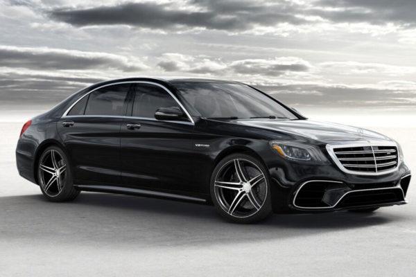 Mercedes S63 AMG W222 Facekift Beneventi Z5.2 black diamond