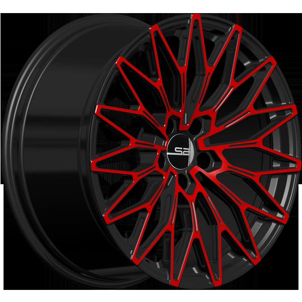 Solomon Alsberg A-2 Черный с красным