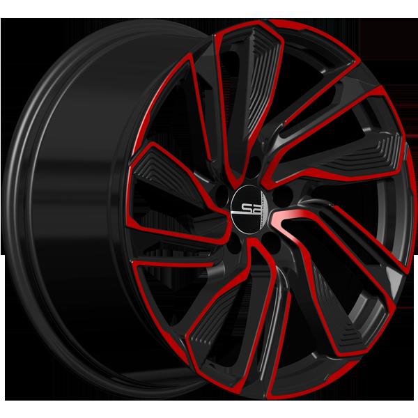 Solomon Alsberg A-3 Черный с красным