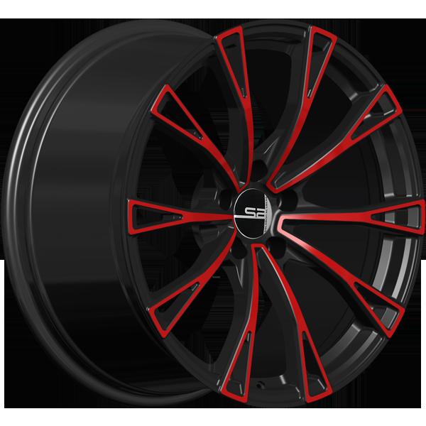 Solomon Alsberg A-4 Черный с красным
