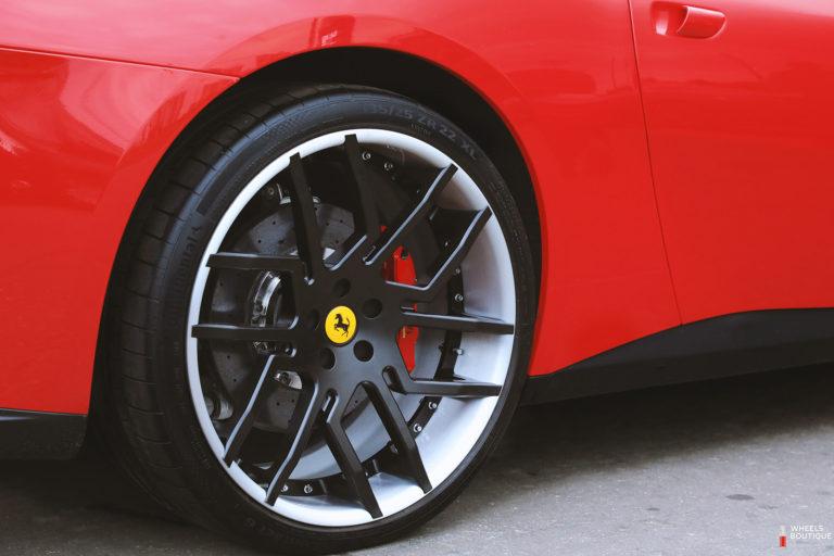 кованые двухсоставные диски ForgedPro для Ferrari GTC4Lusso в размерности R21, R22
