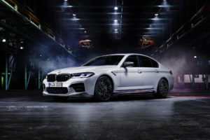 Кованые диски Beneventi RR10 на BMW M5 Performance