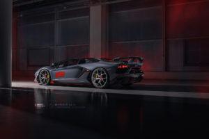 Кованые диски Beneventi K5 V2 на Lamborghini Aventador