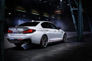 Кованые диски Beneventi K5V2 на BMW M5 Performance