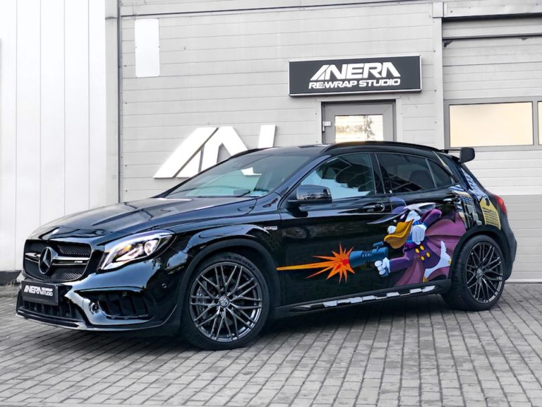 Mercedes A45 Amg & Solomon Alsberg B5 Disco