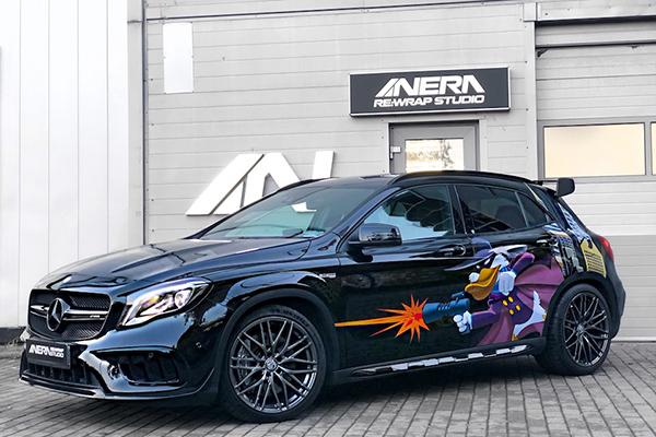 Mercedes A45 AMG + SA B5 Disco