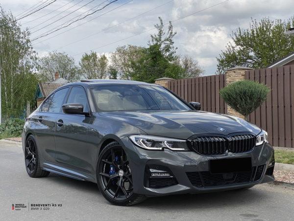 Beneventi K5 V2 в новой отделке Черный сатин и новый BMW