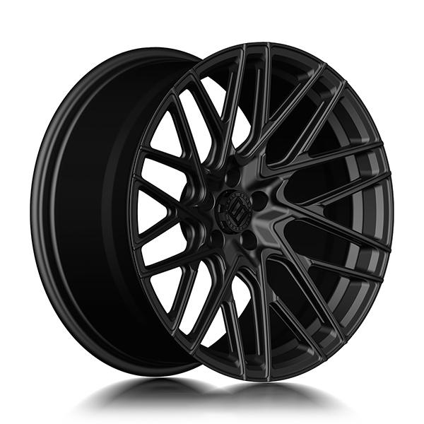 Кованые диски Beneventi RR20 в цвете Black Matte