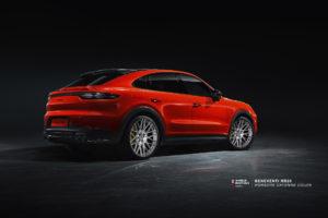 Porsche Cayenne Coupe на кованых дисках Beneventi RR20