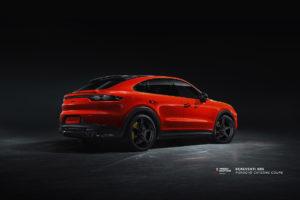 Porsche Cayenne Coupe на кованых дисках Beneventi SR5