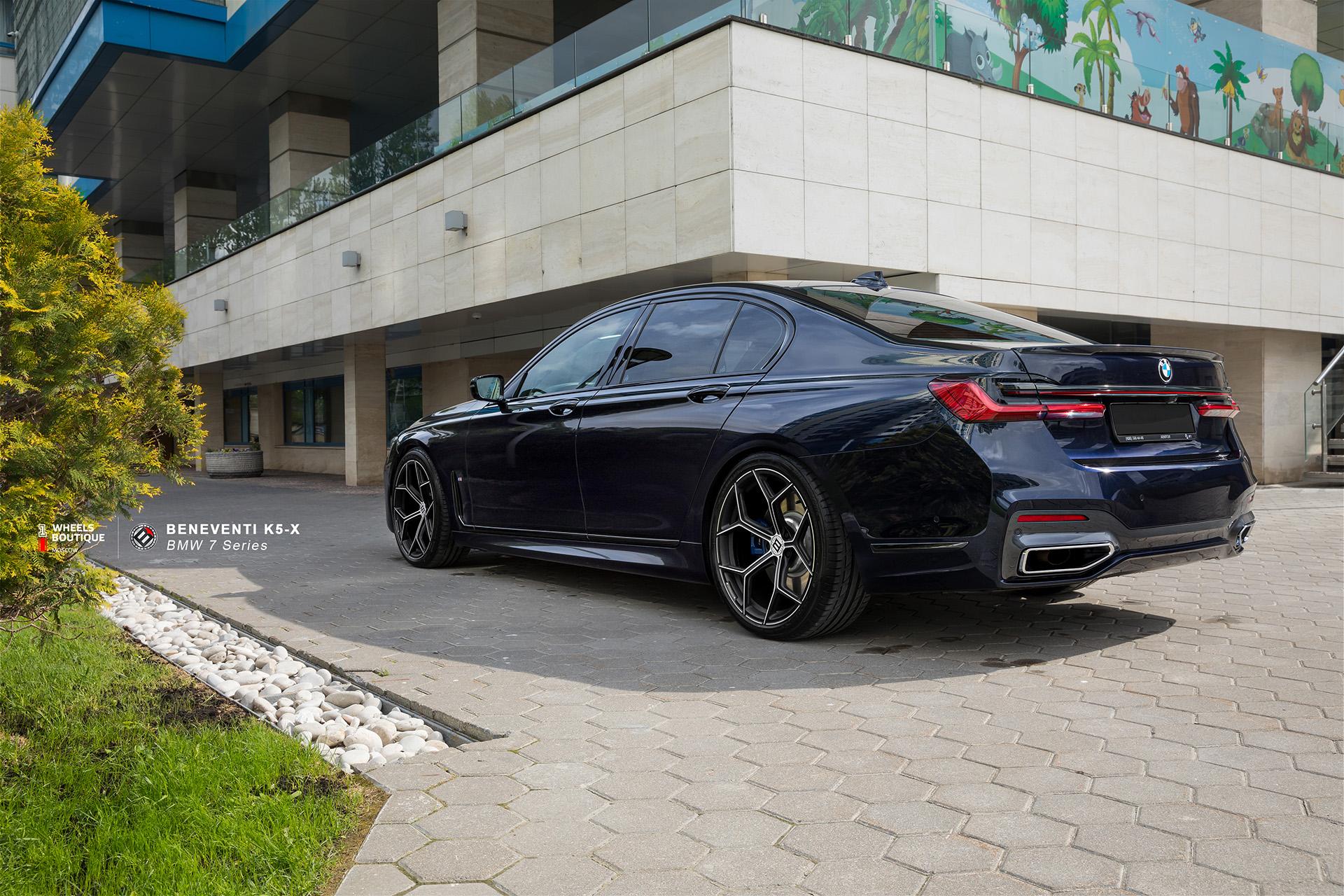 Кованый моноблок Beneventi K5-X для BMW 7