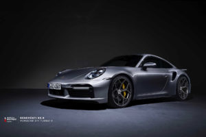 Кованые диски Beneventi K5-X на Porsche 911 Turbo S