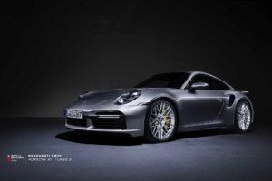 Кованые диски Beneventi RR20 на Porsche 911 Turbo