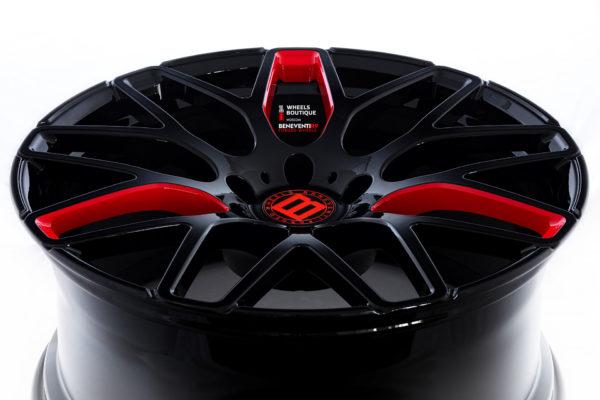 Кованые диски Beneventi R9 в индивидуальной расцветке