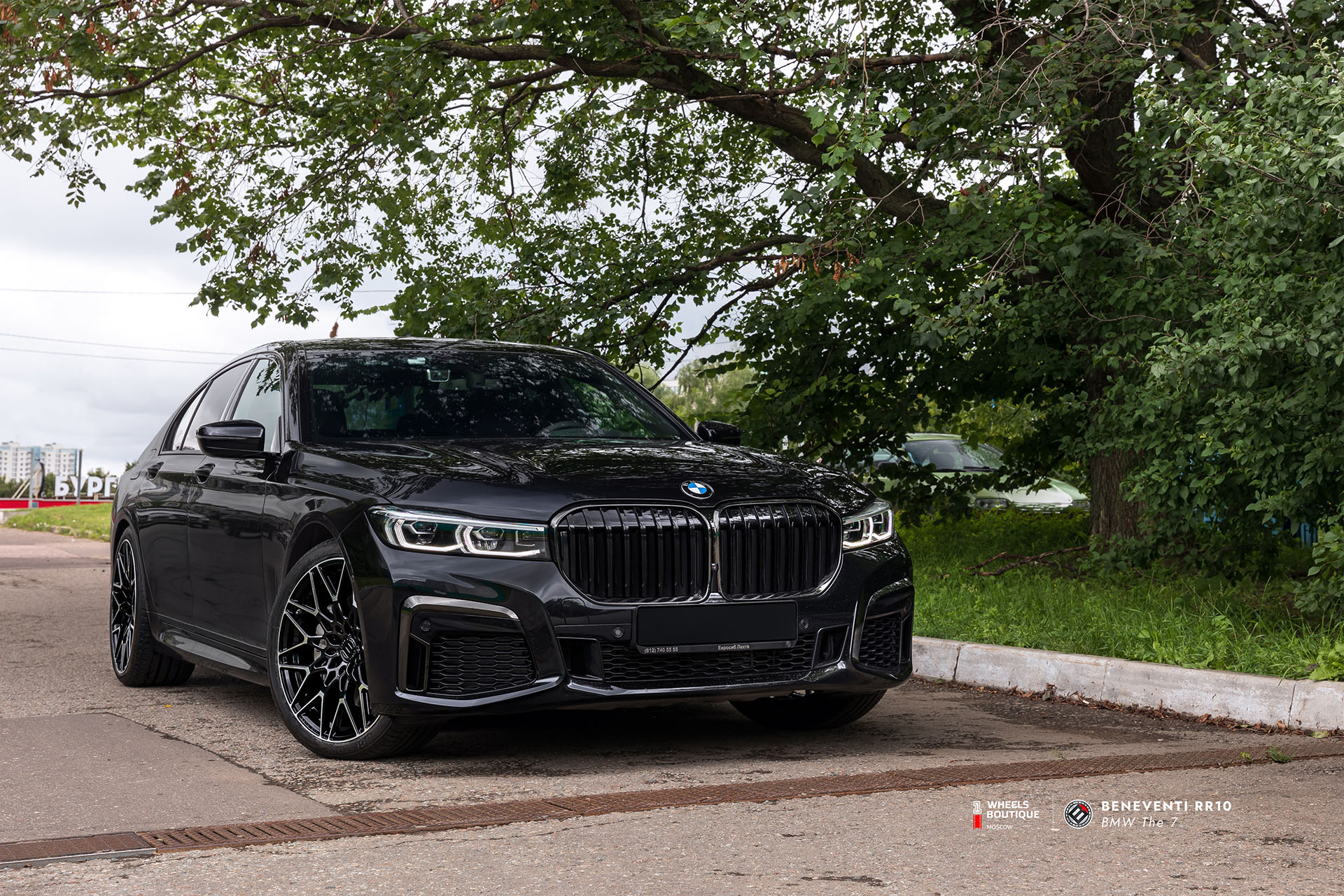 Beneventi RR10 & BMW 7-series
