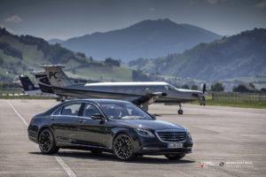 Кованые диски Beneventi RR10 на Mercedes S-Classe