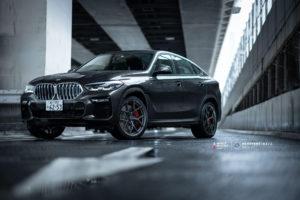 Кованые диски Beneventi K5V2 на BMW X6 (2020)