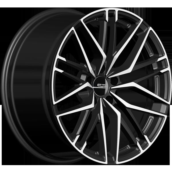 Solomon Alsberg B5 Disco V2 Черный с белым