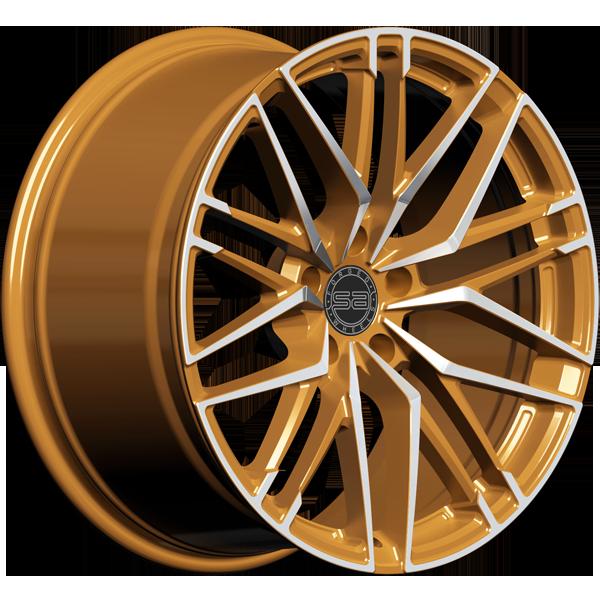 Solomon Alsberg B5 Disco V2 Золотистый с алмазной проточкой