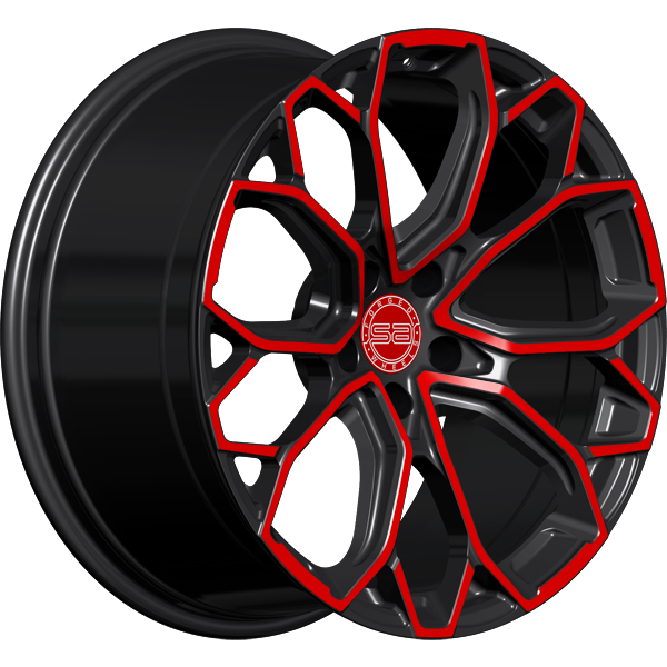 Solomon Alsberg B7 Smart V2 Черный с красным