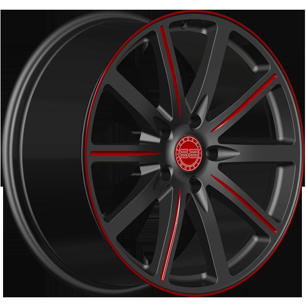 Solomon Alsberg T-3 Eterno Черный с красным