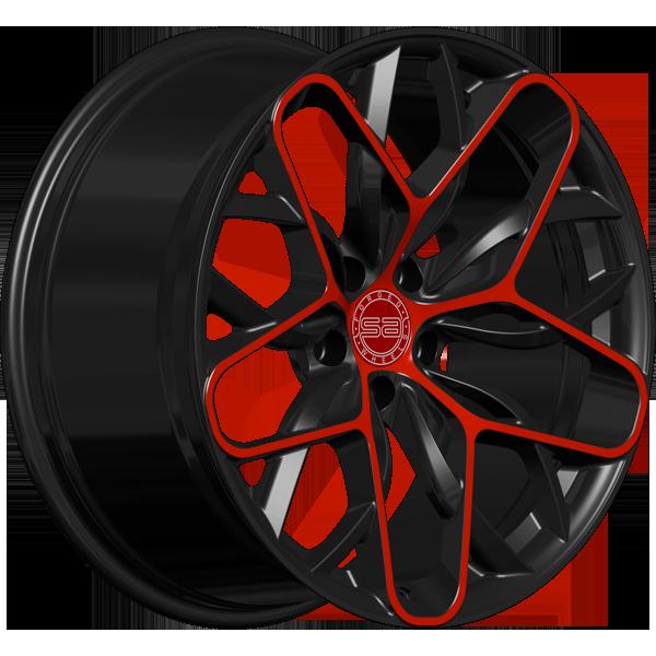 Solomon Alsberg V-3 черный с красным