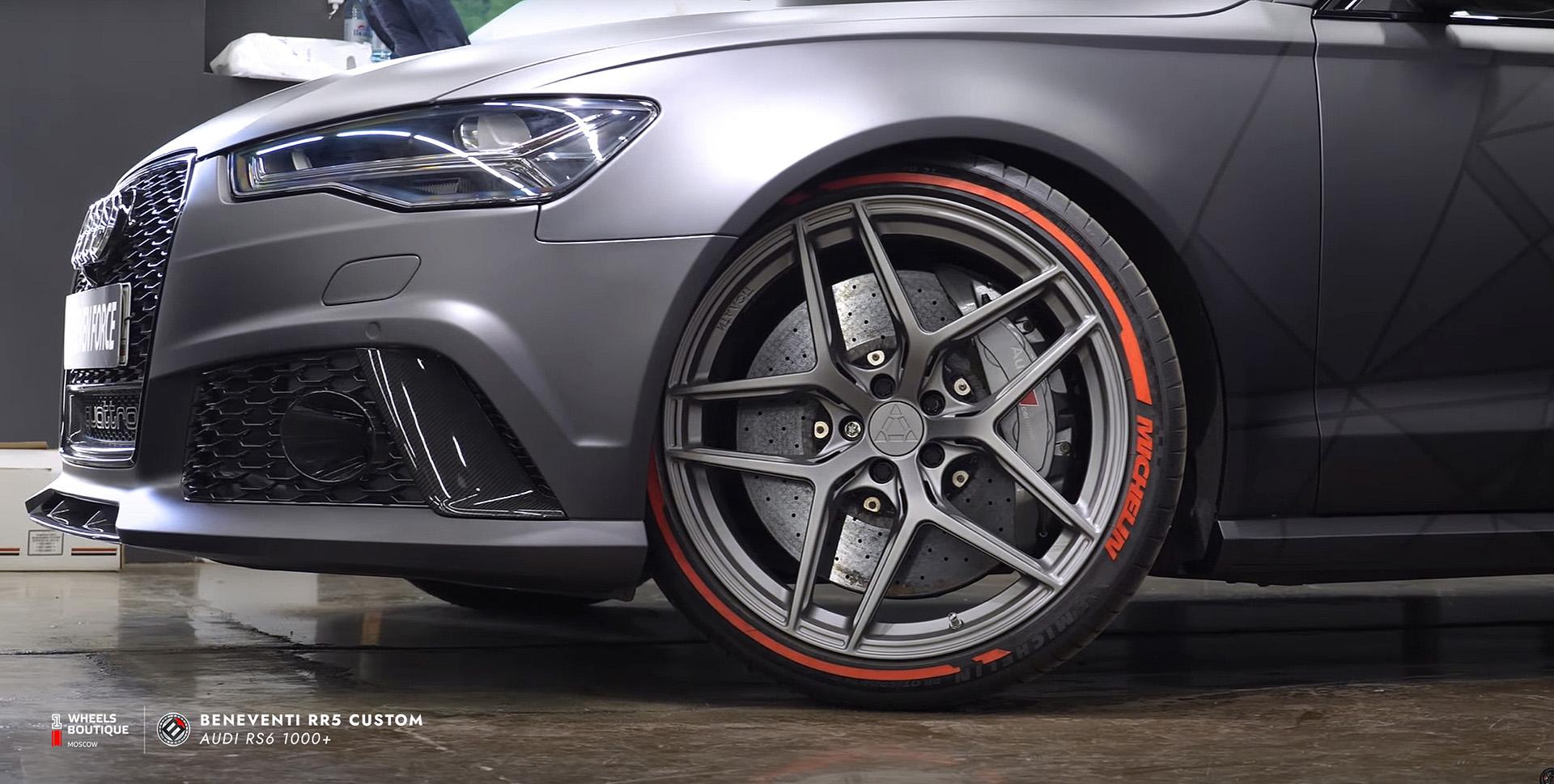 Audi RS6 1000+ и Beneventi RR5 в индивидуальном исполнении с изменениями по эскизам клиента