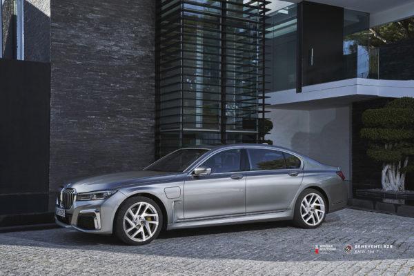 BMW 7 на кованых дисках Beneventi RZR
